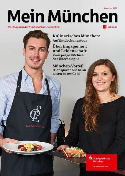 Mein München CSL Food Magazinfoto